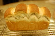 Japanese Milk Bread (Tangzhong or Water Roux method) http://www.the350degreeoven.com/2011/09/japanese-hawaiian/japanese-milk-bread-tangzhong-or-water-roux-method/