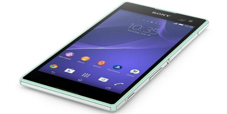 Sony Xperia C3, telefonul selfie :: Gadget24