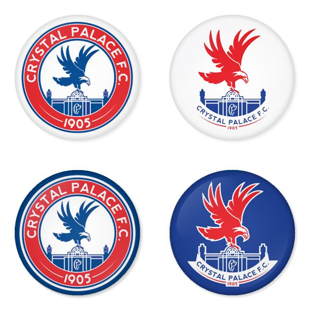 "CRYSTAL PALACE Football Club 1.75"" Badges Pinbacks, Mirror, Magnet, Bottle Opener Keychain http://www.amazon.com/gp/product/B00K30XRI4"