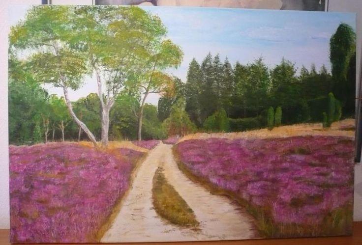 Größe :81x54 cm, gemalt auf Keilrahmen mit hochwertigen Acrylfarben
