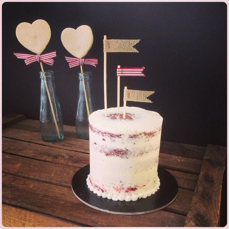 Red velvet mini cake.