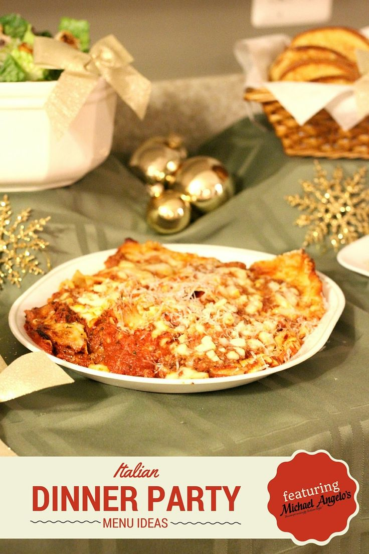 Best 25 italian dinner parties ideas on pinterest for Dinner party menus and recipes