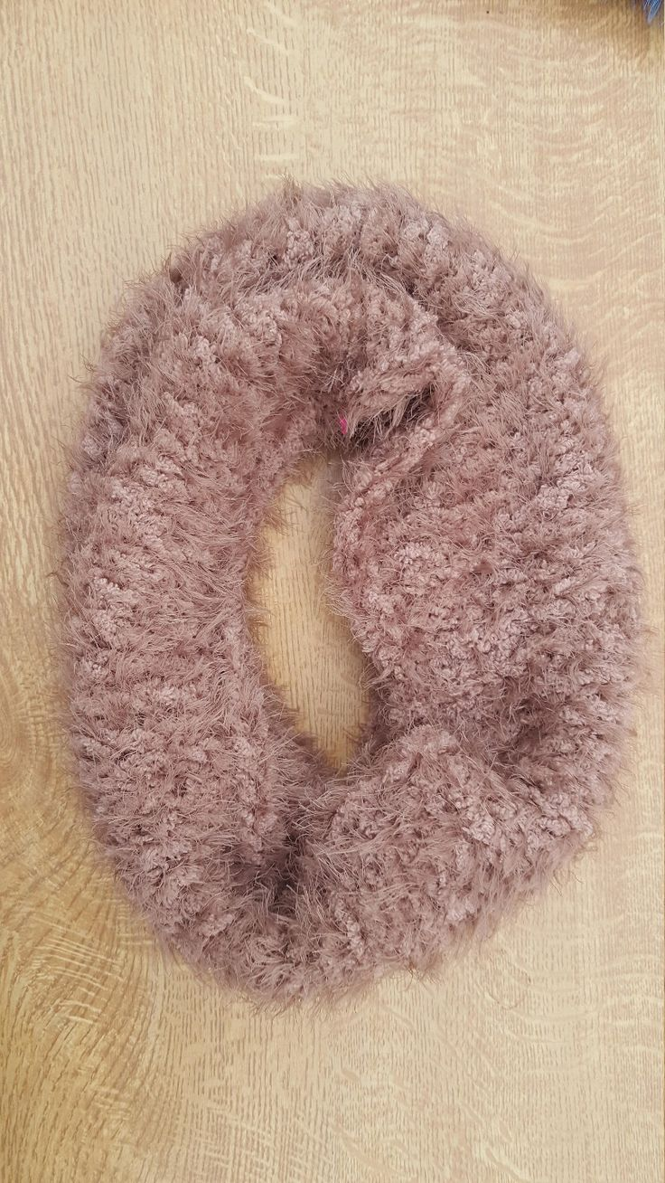 Finally opened my etsy shop and here's my first item: Fluffy Snood #etsy #women #clothing #craftedpixie http://etsy.me/2EBwniz