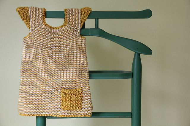 Ravelry: kellyleapea's milo [cap sleeve garter pocket bubble dress]