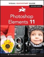 Photoshop Elements 11: Visual QuickStart Guide fra Peachpit Press. Tilgjengelig via Safari Tech Books