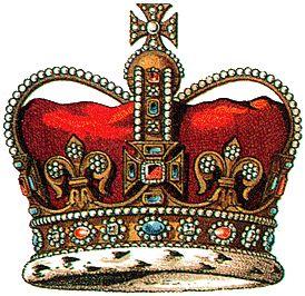 Английская королевская корона Св. Эдуарда