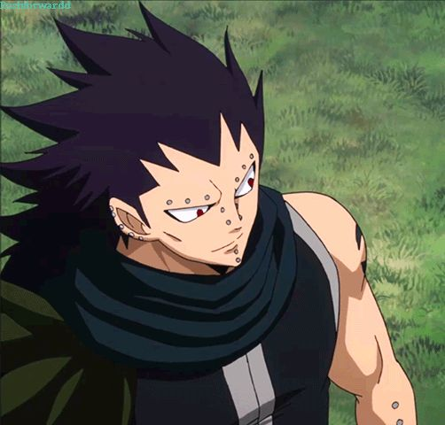 I never knew I needed a blushing Gajeel so much and then.......EEEEEEPPP!!!!!!!!! >~< OMG SO CUTE!!!!!!!!! LOVE HIM!!!!!! XD ||Gajeel|| #Fairy Tail