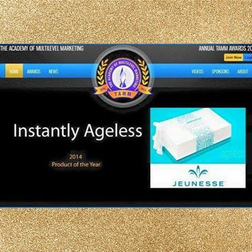 "Instantly Ageless by Jeunesse was voted mlm PRODUCT OF THE YEAR!!  *Over 10 MILLION Dollars in Sales in less than 6 Months on our team! *Over 20,000 New Reps Joined our team in less than 6 Months! *Fastest Growing Team in ALL Of Jeunesse! *Online/Offline Marketing System that ""Average"" people can win with! *#1 Fastest Growing MLM Company on the Direct Selling Association! *#1 Momentum Growth MLM Company in the entire Industry! *Just featured in May's Edition of the Inc 500! *Company Growth…"