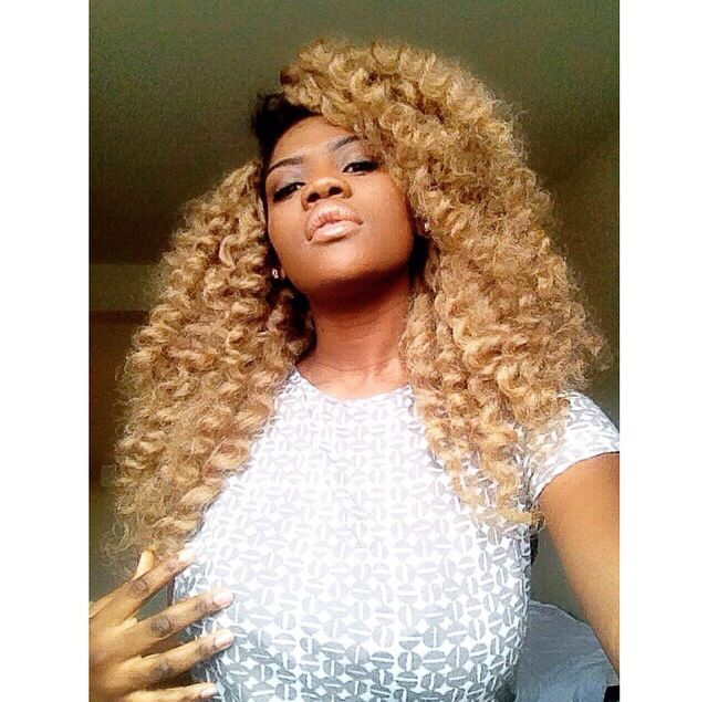 Crochet Hair Blonde : ... blonde crochet weave blonde crochet braids blonde crochet hair blonde