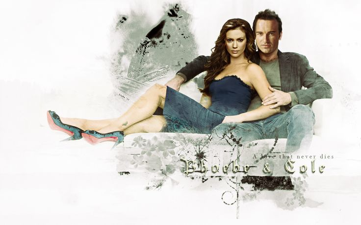 Phoebe And Cole From Charmed Such A Sexy Coupe !  I <33 Them !