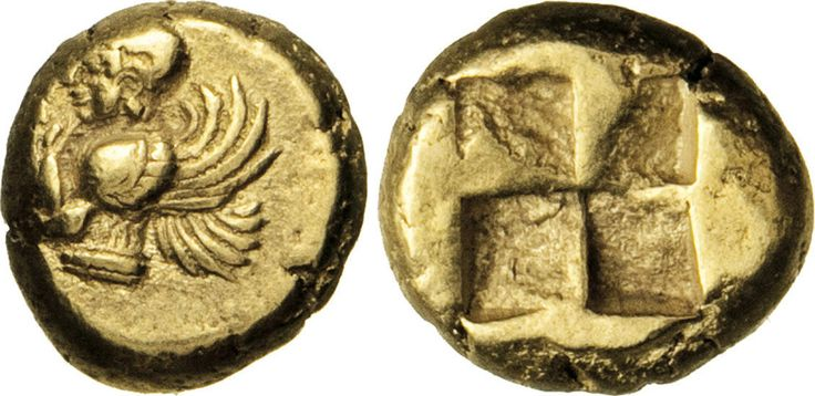 NumisBids: Numismatica Varesi s.a.s. Auction 65, Lot 34 : MYSIA - KYZIKOS - (550-500 a.C. circa) Hekte o 1/6 di Statere. D/...