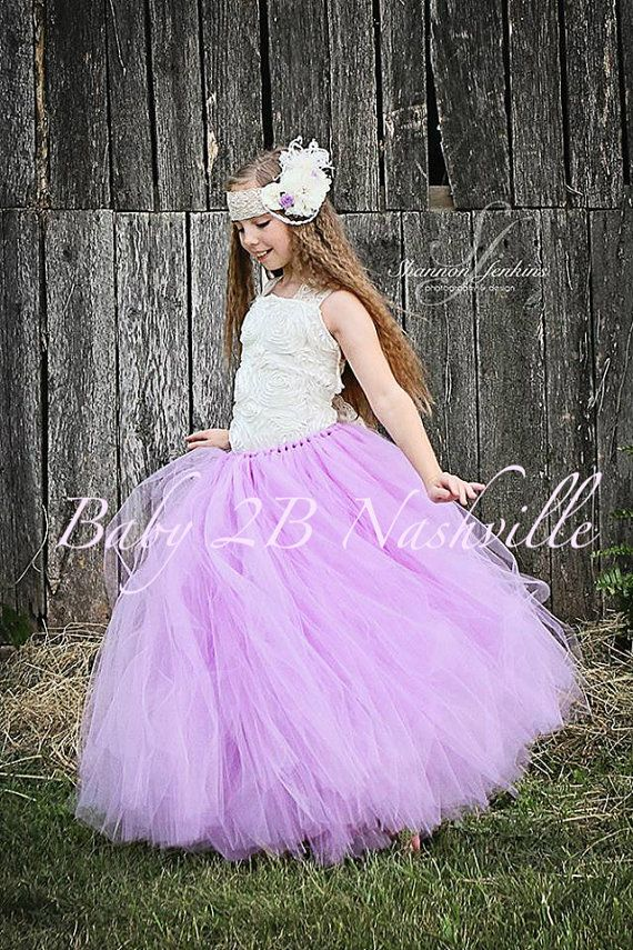 Lilac Flower Girl Dress  Wedding Flower Girl by Baby2BNashville