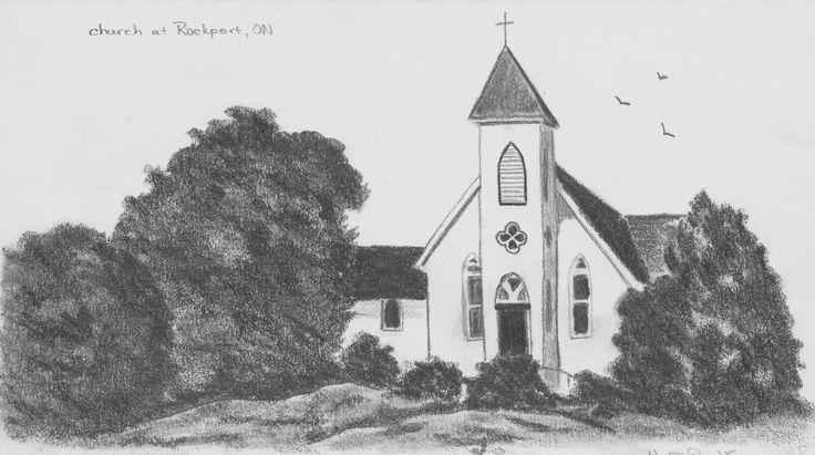 Church at Rockport, Ontario by Hester Bondt
