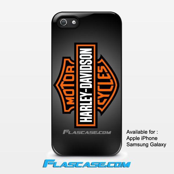 Harley Davidson Logo #1 Apple iPhone 4/4s 5/5s 5c 6 6 Plus Samsung Galaxy S3 S4 S5 S6 S6 EDGE Hard Case