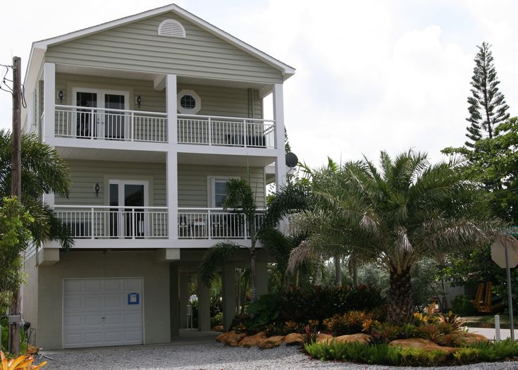 Two Story Coastal Modular Home Design In The Florida Keys