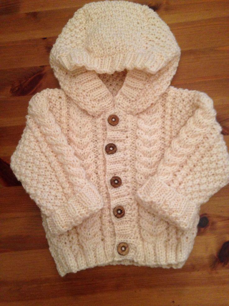 Baby Aran hoodie