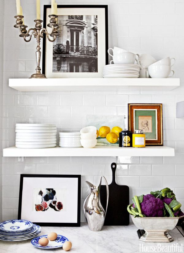 1458 Best Images About White Kitchens On Pinterest Countertop Galley Kitchens And White Kitchen Designs