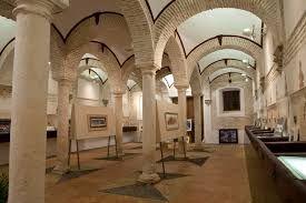 Vista interior del museo del palacio de Benameji ...
