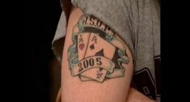 Worst Poker Tattoo Ever