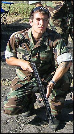 US Navy SEAL Danny Dietz, KIA in June 2005 during Operation Red Wings in Afghanistan.