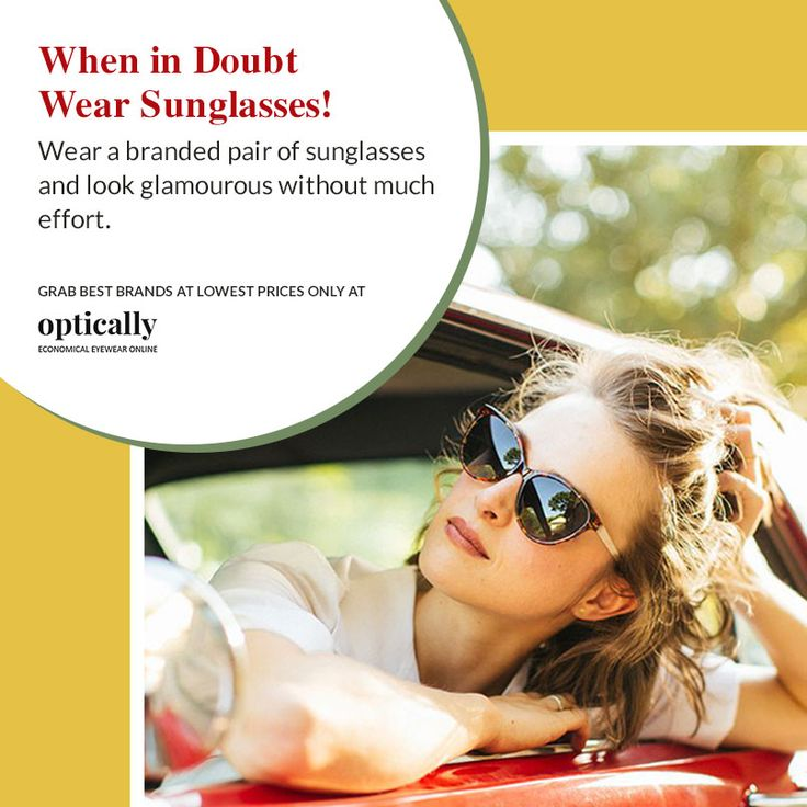 Pocket-friendly Branded ‪#‎Sunglasses‬ Online in ‪#‎Australia‬ -  https://www.optically.com.au/brands.htm