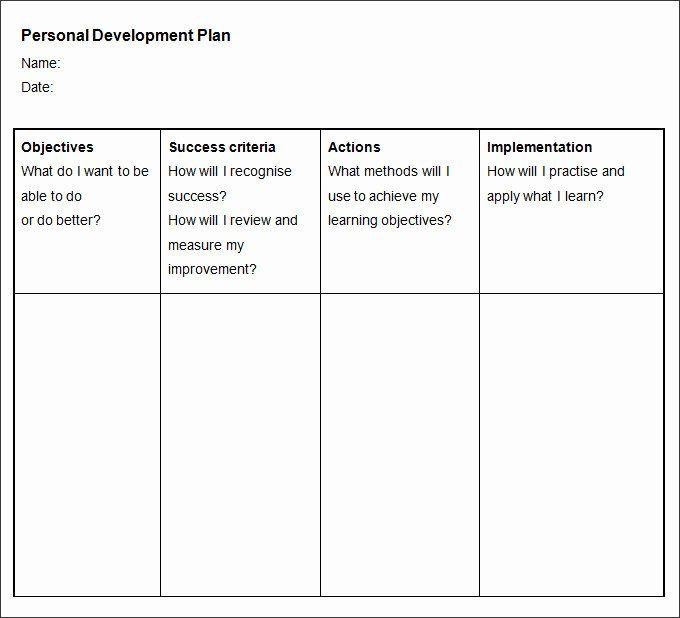 40 Individual Development Plan Examples Personal Development