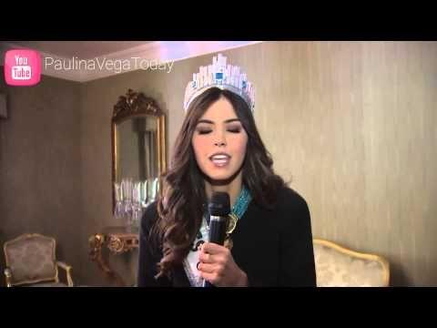 Mensaje por la paz de Paulina Vega