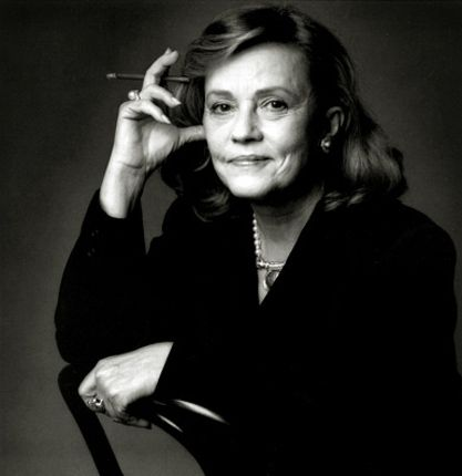 Jeanne Moreau - some refuse plastic surgery and grow more beautiful