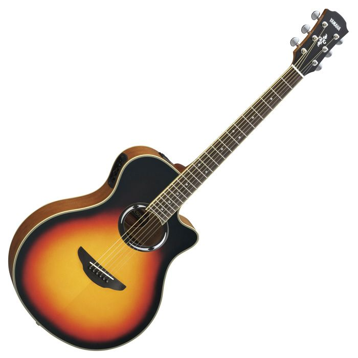 Yamaha APX500III Thinline Acoustic-Electric Guitar, Violin Burst