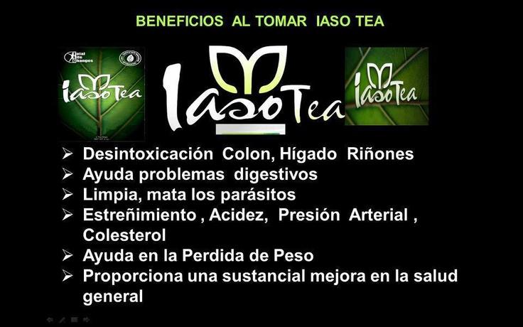 Desintoxica y Pierde Peso Naturalmente.  IasoTea ofrece una mezcla única de ingredientes naturales diseñados para ofrecer resultados espectaculares. http://www.totallifechanges.com/libreonline