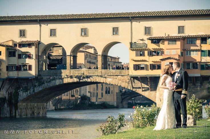 Vecchio bridge in Florence