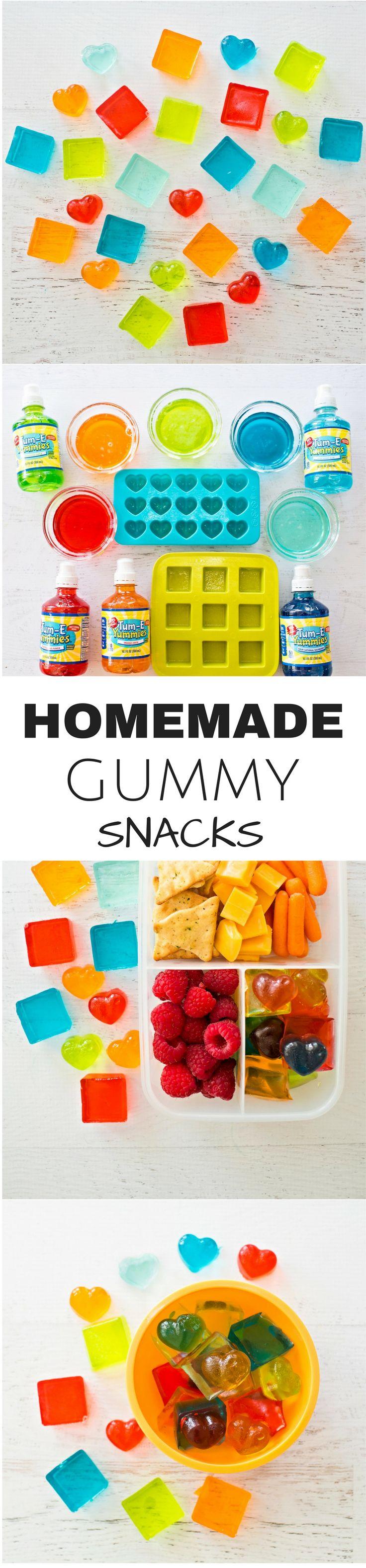 Easy Fruit Gummy Lunchbox Snack Recipe for Kids. @tumeyummies AD