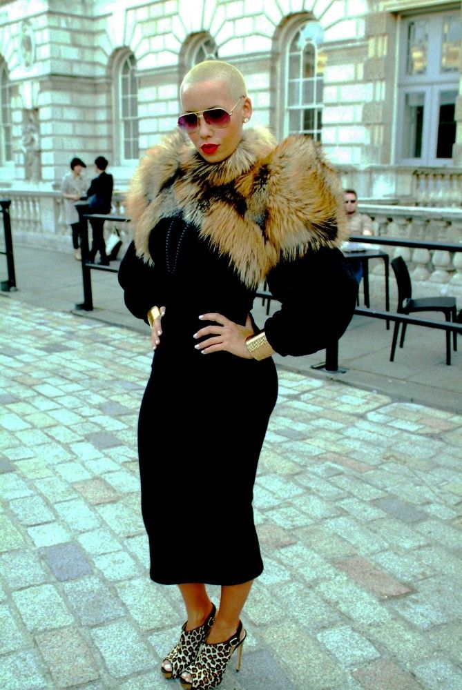Amber Rose Style Icon of the Week LUXO                                                                                                                                                                                 More