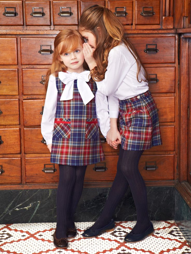 plaid // Oscar de la Renta childrenswear