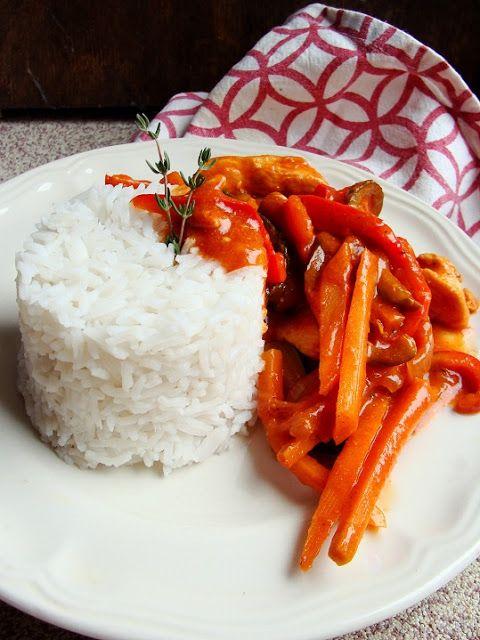 Kolorowo - torcikowo: Chińszczyzna, czyli kurczak na sposób chiński