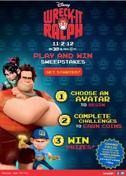 New Wreck-It Ralph sweeps + a newly release clip! #movies #disney