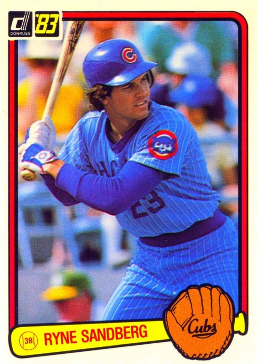 Ryne Sandberg #23 Chicago Cubs
