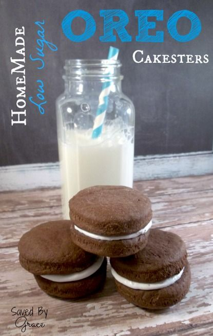 Low Carb Oreo Cakesters - Saved By Grace