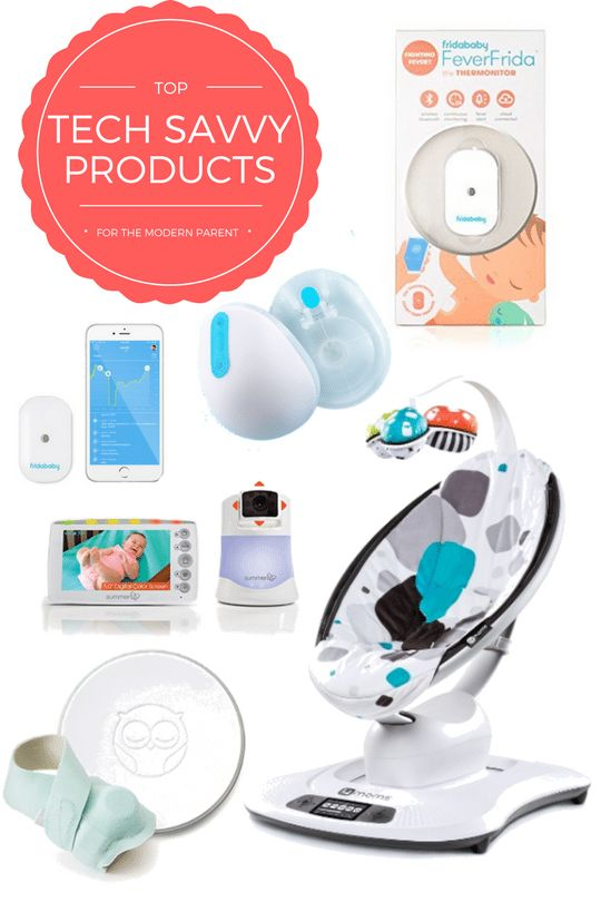 The best technology savvy and tech gadgets for the modern mom and dad // parenting product must haves for the new and experienced mom!