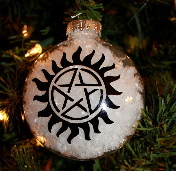 Supernatural Anti Possession Tattoo Ornament