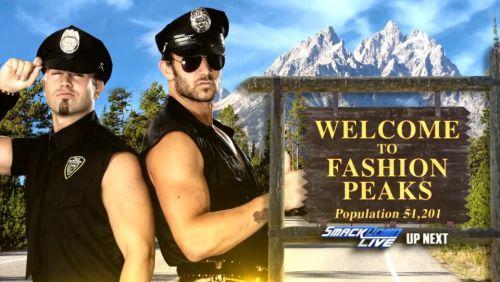 ★ Fashion Peaks ★ Breezango ★ Fandango ★ Tyler Breeze ★ #WWE #Fashion_Files #Fashion_Peaks #Runway_Walker_Texas_Rangers #Breezango #Fandango #Tyler_Breeze