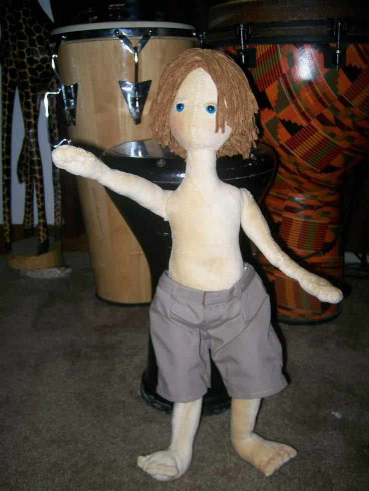 The newest member of my Poppet family, Zeke!! *Now with bit's tutorial!* - TOYS, DOLLS AND PLAYTHINGS