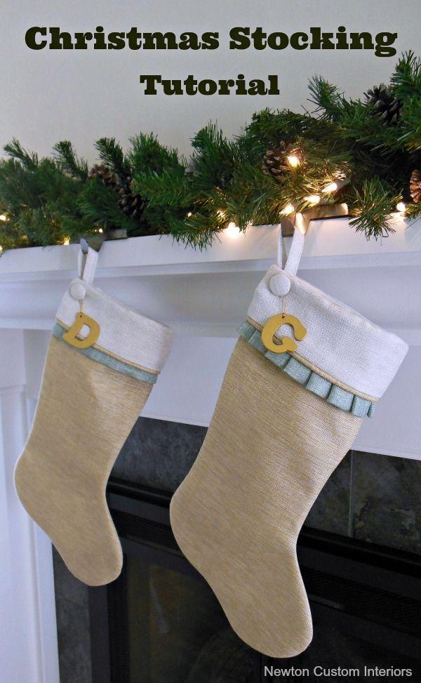Monogrammed Tree Skirt Christmas