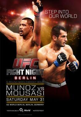 UFC Fight Night 41: Munoz vs. Mousasi Results