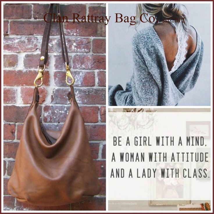 Leather tote R1200