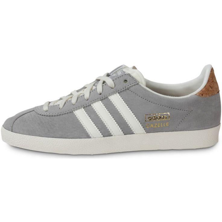 adidas gazelle gris et blanc