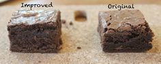 A Boxed Brownie Experiment: how to improve boxed brownies