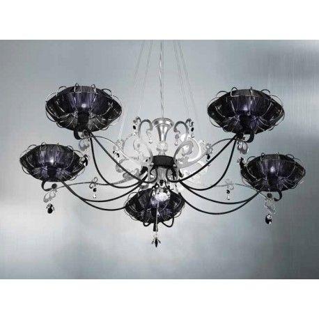 CANDELABRU CU 5 BRAŢE #candelabru #candelabre #corpuriiluminat #corpurideiluminat #chandelier #chandeliers #lamp #lamps