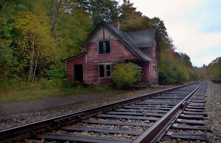 Love railroad tracks!