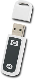 HP - Bluetooth Wireless Printer and PC Adapter - White